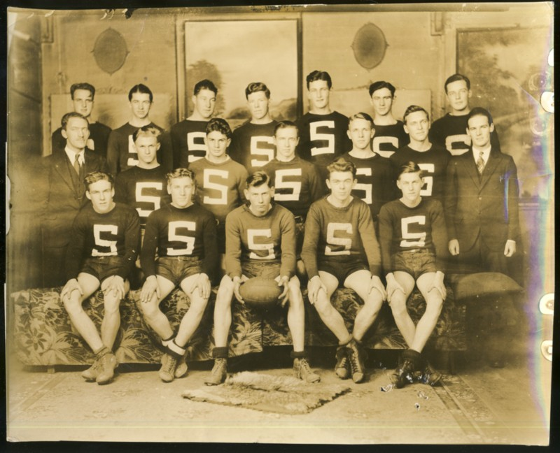 Image for Photograph of the Sydney Academy  Rugby team 1933