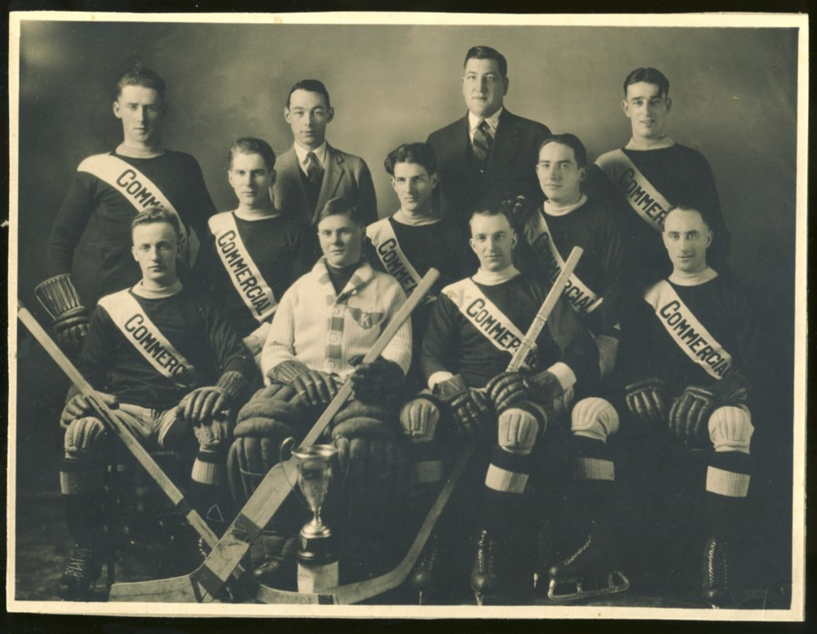 Image for Photograph of the Commercial Hockey Team, Canada