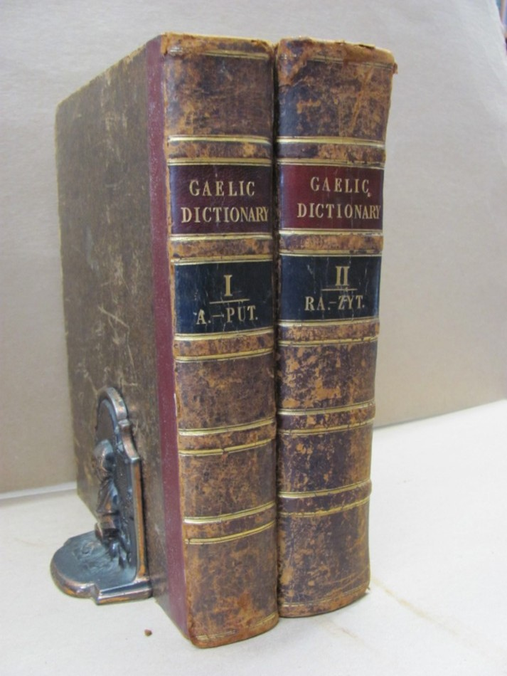 Image for Dictionarium Scoto-Celticum:A Dictionary of the Gaelic Language ; Comprising An Ample Vocabulary of Gaelic Words, as perserved in Vernacular Speech, Manuscripts, or Printed Works. With Their Signification  and Various Examples and Phrases. (in 2 vols)
