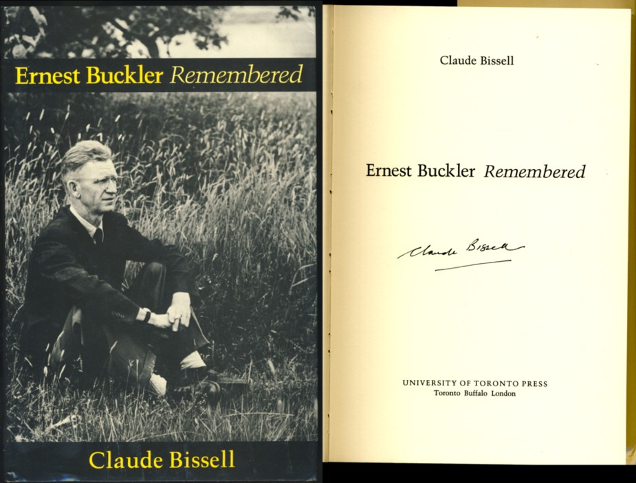 Image for Ernest Buckler Remembered