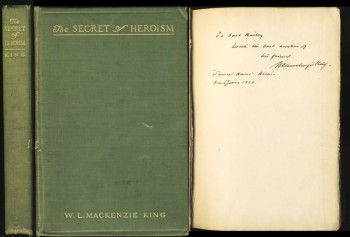 Image for The Secret of Heroism. A memoir of Henry Albert Harper (Signed)