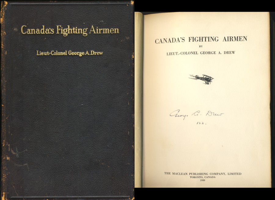 Image for Canada's Fighting Airmen (Signed)