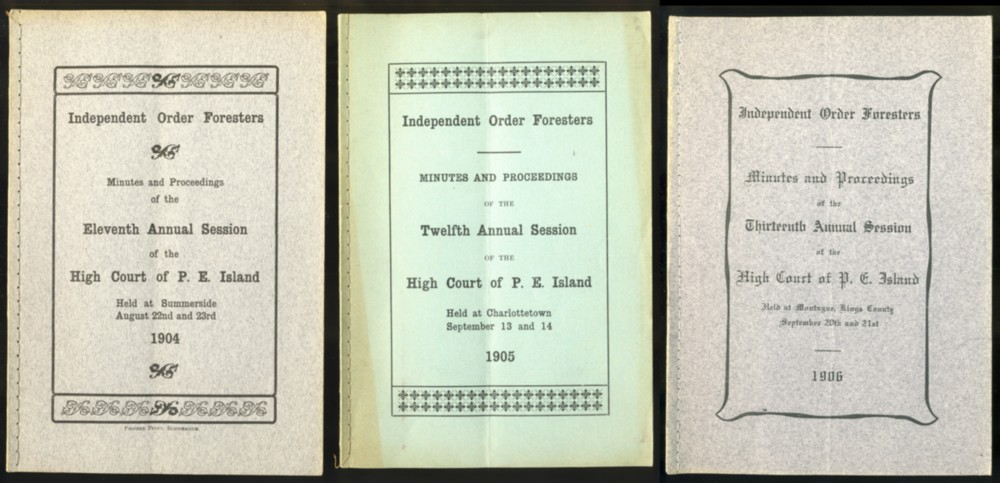 Image for Minutes and Proceedings of the Eleventh Annual Session of the High Court of P.E. Island  1904 (together with 1906 & 1907 issues)