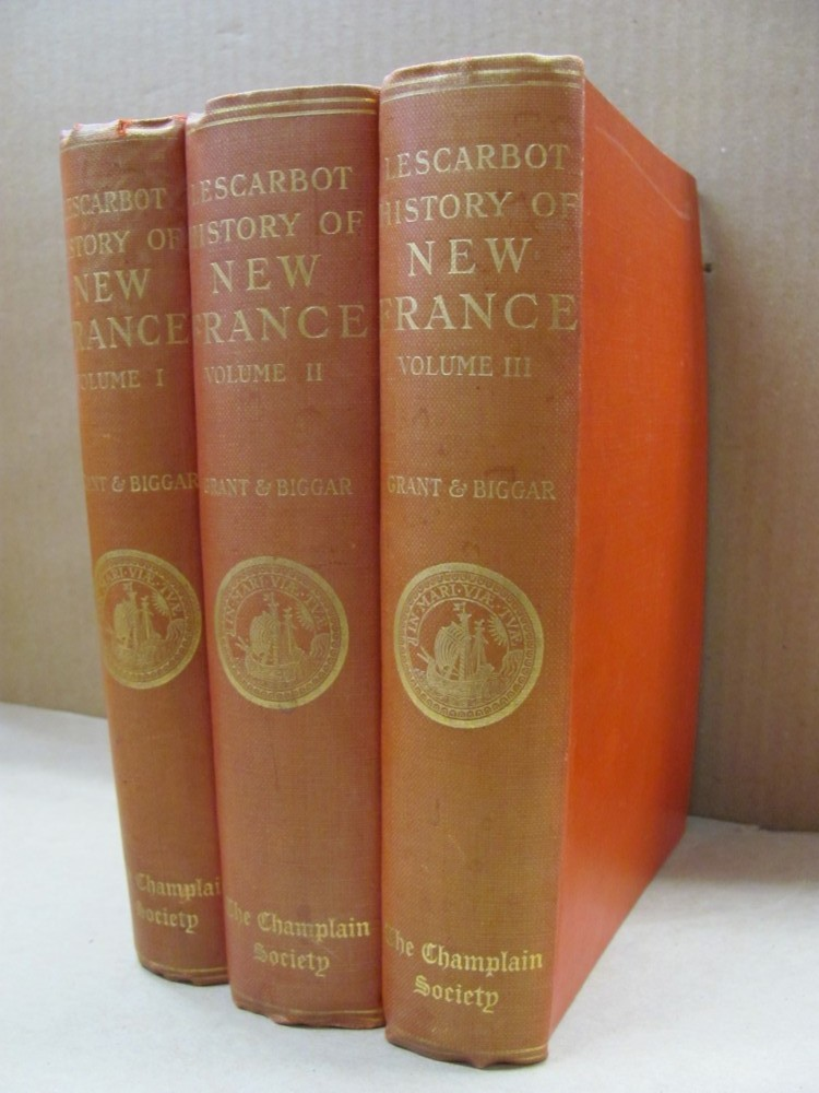 Image for The History of New France  (in 3 vols)
