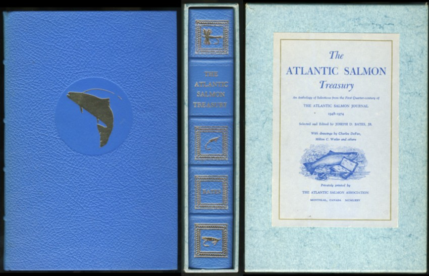 Image for The Atlantic Salmon Treasury. An Anthology of Selections from the First Quarter-century of The Atlantic Salmon Journal  1948-1974