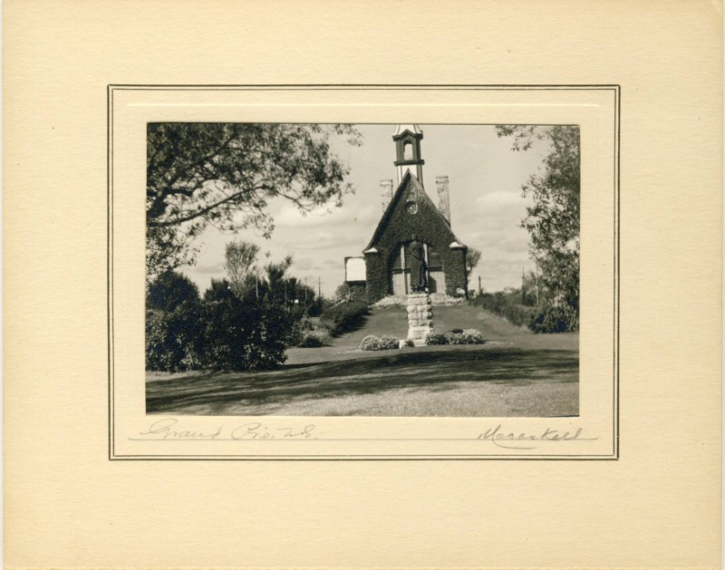 "Image for Wallace R. MacAskill Photograph of ""Grand Pre, N.S."", c. 1930"