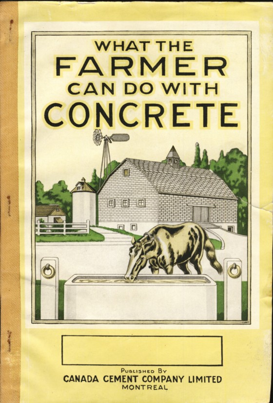 Image for What the Farmer Can Do With Concrete